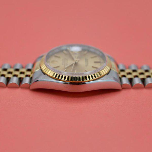 FS: 1995 Rolex Datejust Ref. 16233| Champagne Dial | Papers 11