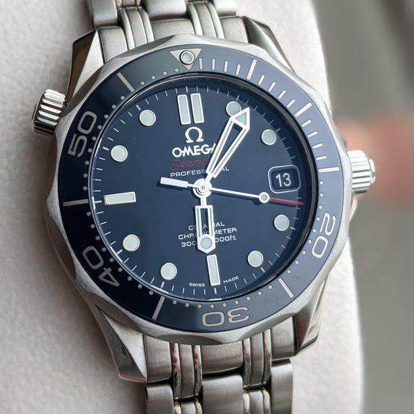 FS: Omega Seamaster Diver 300m Ceramic Midsize 212.30.36.20.03.001 blue dial, full kit box and papers 1
