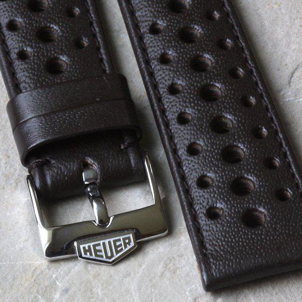 Vintage racing bands as originally supplied on many Heuers 7