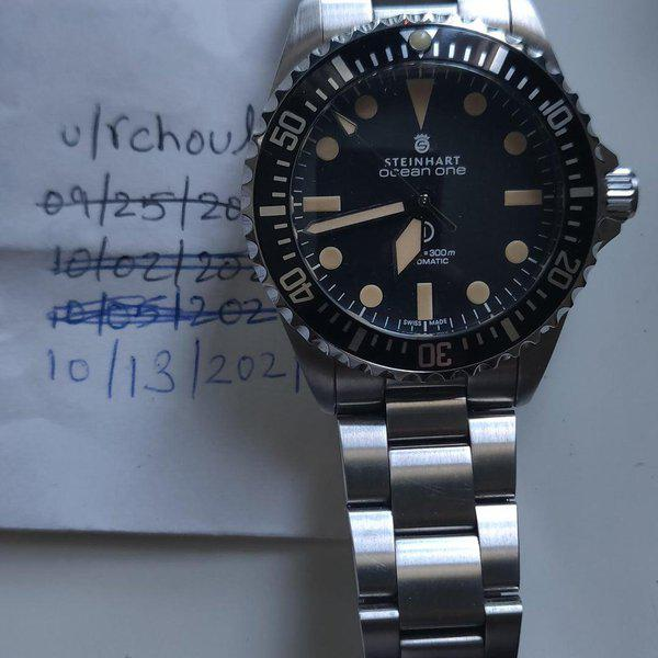 [WTS] Steinhart Ocean Vintage Military 39 with Box, Cards, Tags & All links 1