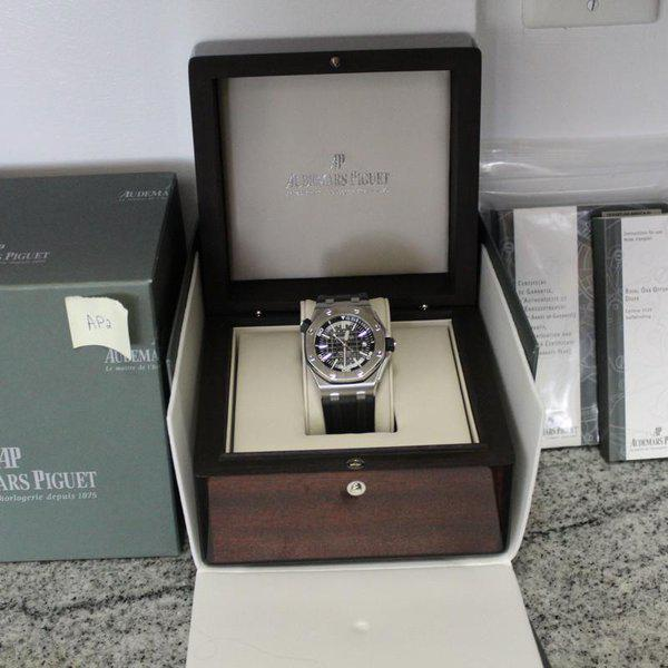FS: Audemars Piguet Royal Oak 15703ST.OO.A002CA.01 With BOXES AND PAPERS! WOW! LOOK! 2