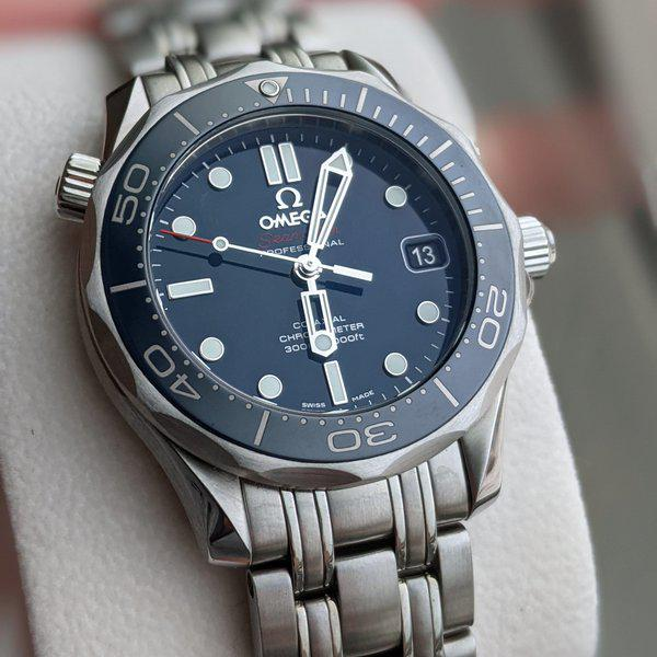 FS: Omega Seamaster Diver 300m Ceramic Midsize 212.30.36.20.03.001 blue dial, full kit box and papers 8