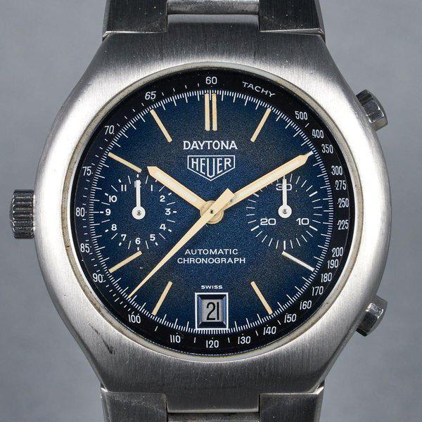 FS: 1976 Heuer Daytona Ref: 110.203B Blue Dial 1