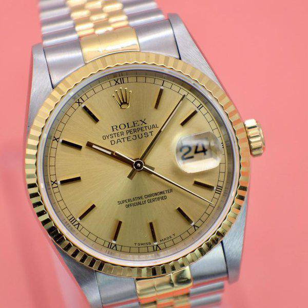 FS: 1995 Rolex Datejust Ref. 16233| Champagne Dial | Papers 3