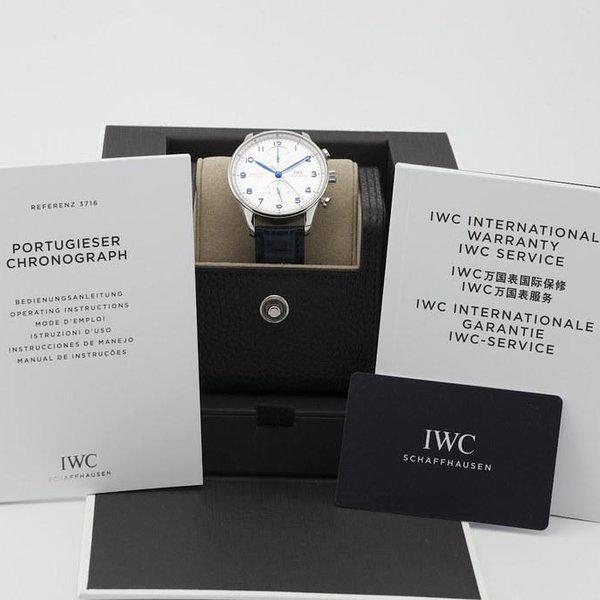fsot - IWC Portuguese Chronograph - NEW In-House Movement - IW371605 ( new / 2020 ) 12