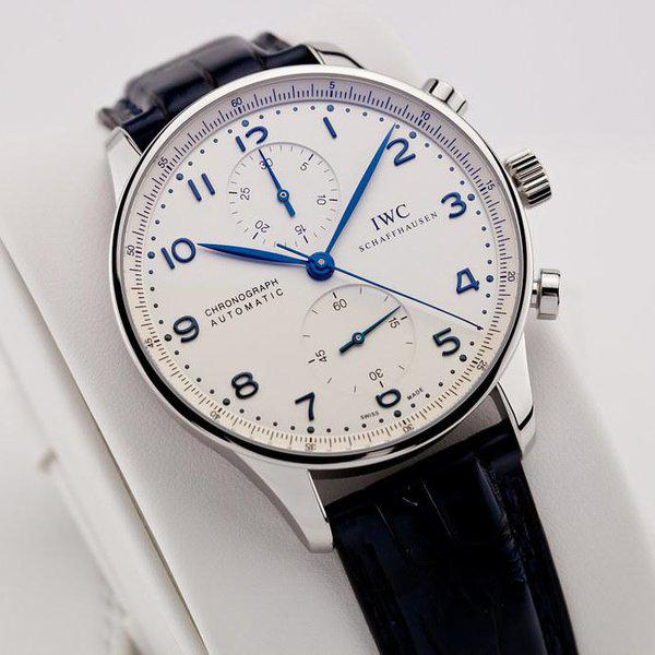 fsot - IWC Portuguese Chronograph - NEW In-House Movement - IW371605 ( new / 2020 ) 5