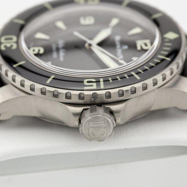 fsot - Blancpain Fifty Fathoms - Black Titanium - 45mm 5015-12B30-B52 ( new / 2020 ) 6