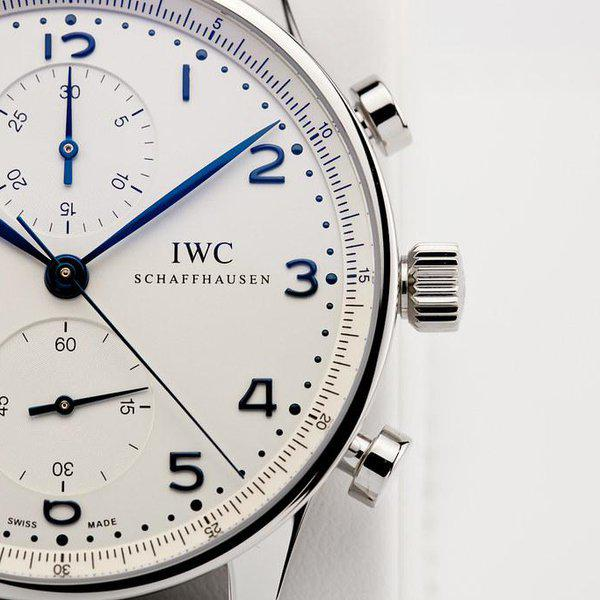 fsot - IWC Portuguese Chronograph - NEW In-House Movement - IW371605 ( new / 2020 ) 9