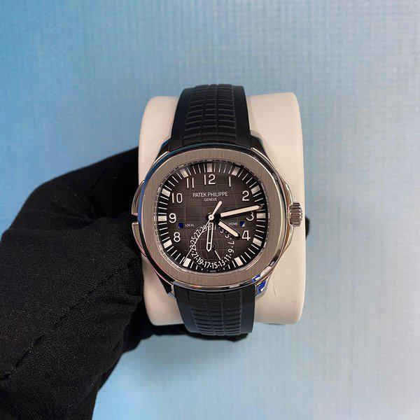 Patek Philippe 5164A Aquanaut Stainless Steel Travel Time 1