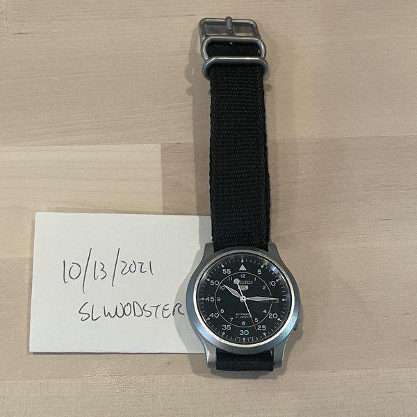[WTS] Seiko SNK809 and other rarely worn pieces. 1