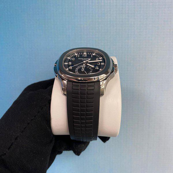 Patek Philippe 5164A Aquanaut Stainless Steel Travel Time 2