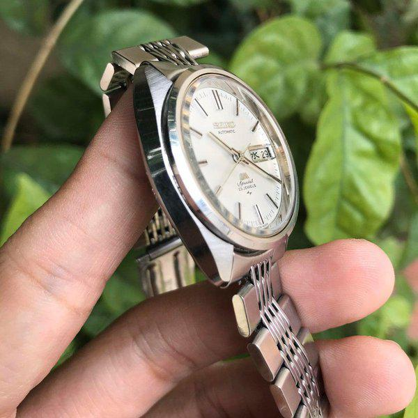 [WTS] Vintage Seiko LM Special Hi-beat like King Seiko, daydate change exactly at midnight 2