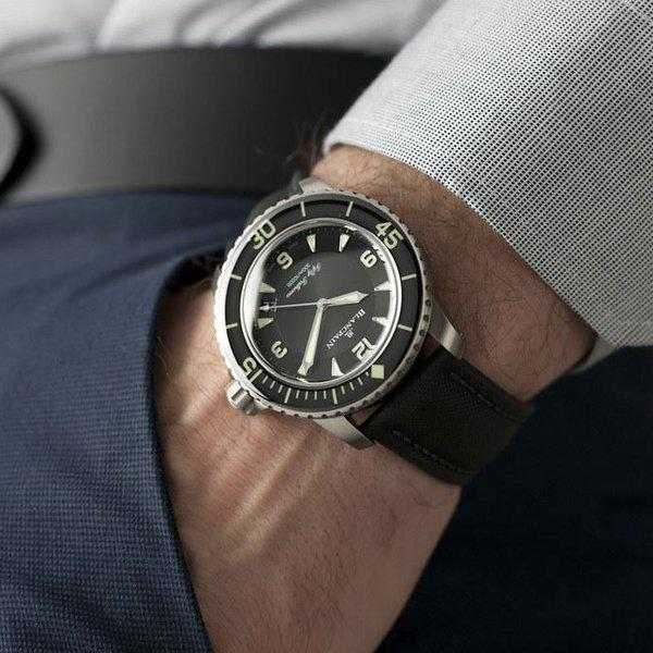 fsot - Blancpain Fifty Fathoms - Black Titanium - 45mm 5015-12B30-B52 ( new / 2020 ) 2