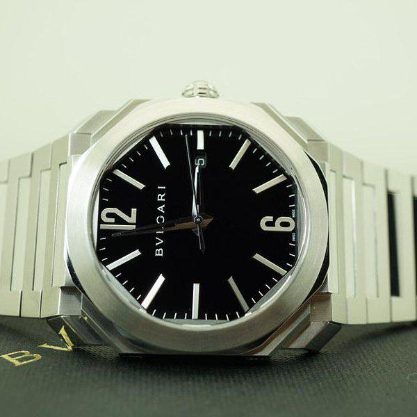 FSOT:MINT Bvlgari OCTO AUTOMATIC BLACK DIAL STAINLESS STEEL BRACELET 2019 WARRANTY 10
