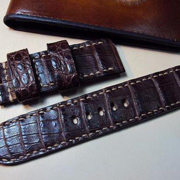FS: 7 crocodile Panerai straps & some custom ultralength straps Porder801~806 & custom straps Porder601~610. Cheergiant straps     7