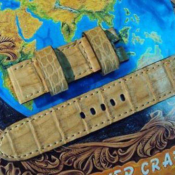FS: 7 crocodile Panerai straps & some custom ultralength straps Porder801~806 & custom straps Porder601~610. Cheergiant straps     8