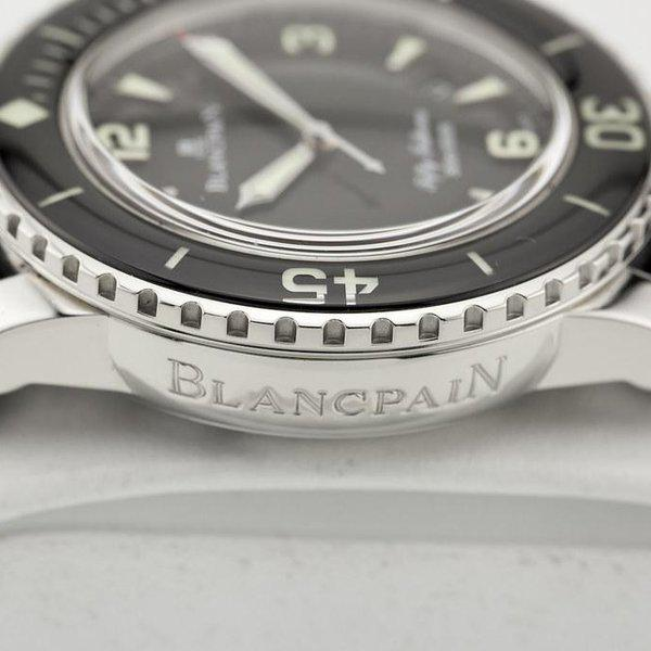 fsot - Blancpain Fifty Fathoms - Black - 45mm 5015-1130-52A ( complete ) 6