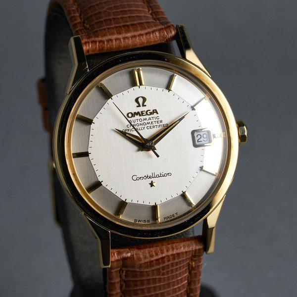 FS: 1960s YG Omega Constellation Ref: 168.005 with Silver Pie-Pan Dial 2