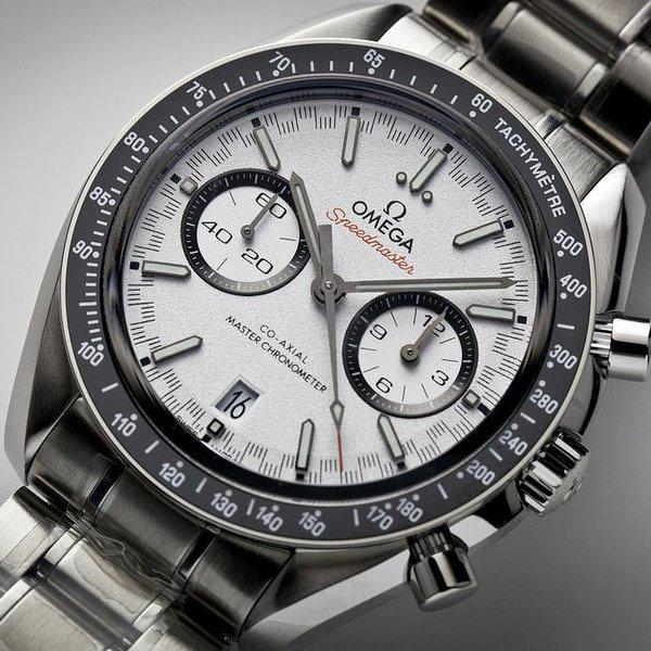 fsot - Omega Speedmaster - Racing Master Co-Axial 44.25mm - White Dial ( new / 2020 ) 4