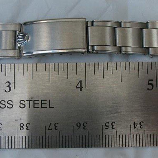 FS: Extra rare Rolex straight-end Rivet bracelet from 1953 - Good for JCK 6036, 6236 etc 15