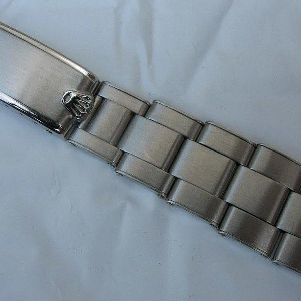 FS: Extra rare Rolex straight-end Rivet bracelet from 1953 - Good for JCK 6036, 6236 etc 2