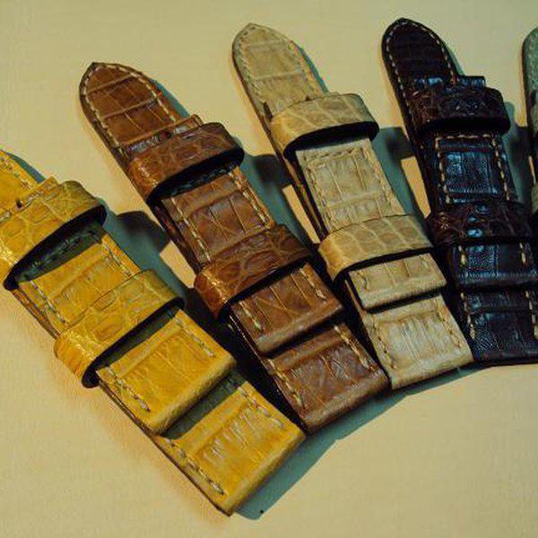 FS: 7 crocodile Panerai straps & some custom ultralength straps Porder801~806 & custom straps Porder601~610. Cheergiant straps     2
