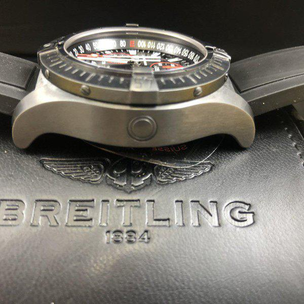 FS: Breitling Avenger Seawolf Chrono Blacksteel REDUCED Limited Edition M73390 - Exce 8