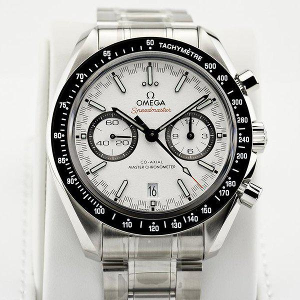 fsot - Omega Speedmaster - Racing Master Co-Axial 44.25mm - White Dial ( new / 2020 ) 5