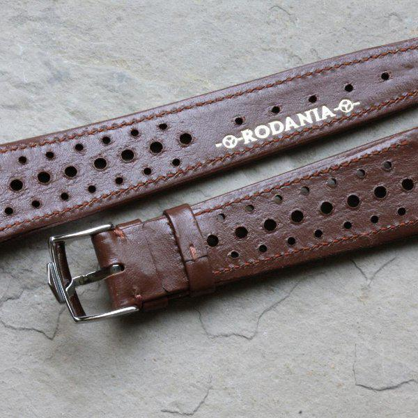 Vintage racing bands as originally supplied on many Heuers 3