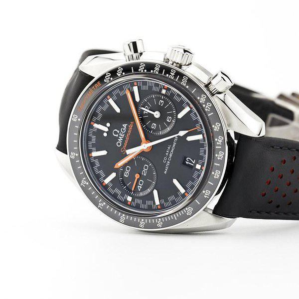 fsot - Omega Speedmaster - Racing Master Co-Axial 44.25mm - Orange ( new / 2020 ) 1