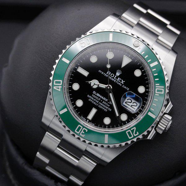 """FSOT: Rolex Submariner 41 Date - 126610lv - """"Cermit"""" - Stainless Steel - 41mm - New 9"""