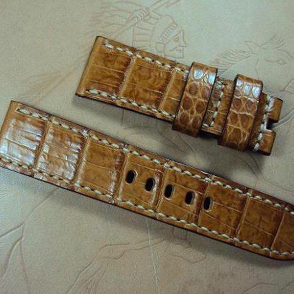 FS: Panerai custom straps A480~A494 include crocodile straps,olive green & dark gray straps. Cheergiant straps 20