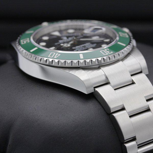 """FSOT: Rolex Submariner 41 Date - 126610lv - """"Cermit"""" - Stainless Steel - 41mm - New 6"""