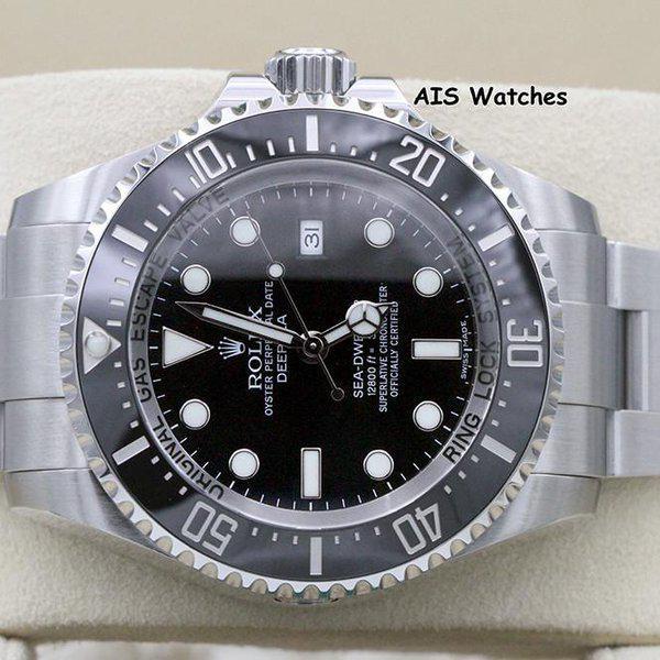 FSOT: Rolex 116660 Deep Sea SeaDweller DSSD Black Dial Box & Papers 3