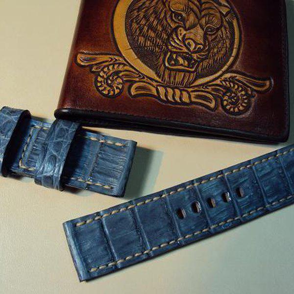 FS: 7 crocodile Panerai straps & some custom ultralength straps Porder801~806 & custom straps Porder601~610. Cheergiant straps     4
