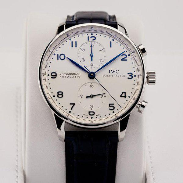 fsot - IWC Portuguese Chronograph - NEW In-House Movement - IW371605 ( new / 2020 ) 3