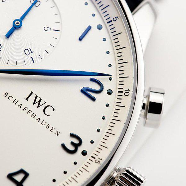 fsot - IWC Portuguese Chronograph - NEW In-House Movement - IW371605 ( new / 2020 ) 8
