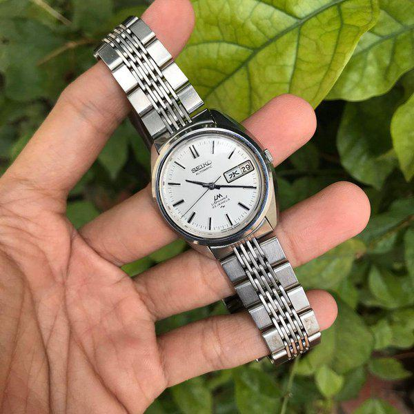 [WTS] Vintage Seiko LM Special Hi-beat like King Seiko, daydate change exactly at midnight 1