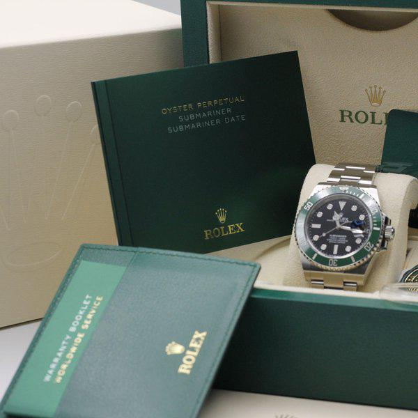"""FSOT: Rolex Submariner 41 Date - 126610lv - """"Cermit"""" - Stainless Steel - 41mm - New 11"""