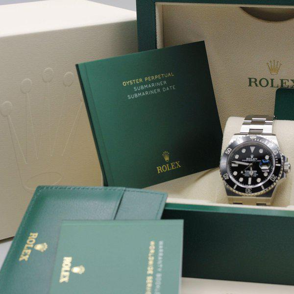 FSOT: Rolex Submariner 41 Date - 126610ln - Black - Stainless Steel - 41mm - New 2021 11