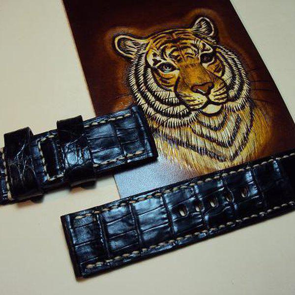 FS: 7 crocodile Panerai straps & some custom ultralength straps Porder801~806 & custom straps Porder601~610. Cheergiant straps     5