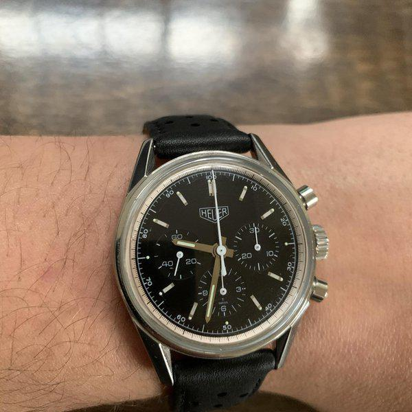 [WTS] Heuer 3111 Carrera Re-edition 1
