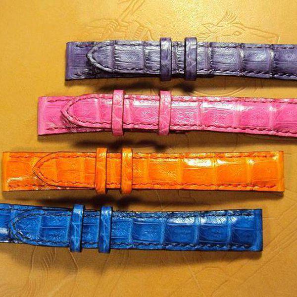 FS:Some custom straps Svw420~429 AP ROO Safari croco strap,CHOPARD,Bell & Ross BR-02,Agnes b. Cheergiant straps 7