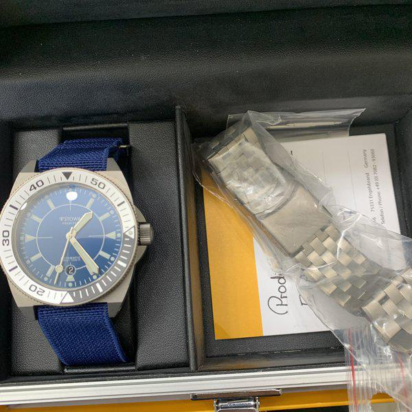 FS: Stowaway Prodiver Blue limited 1