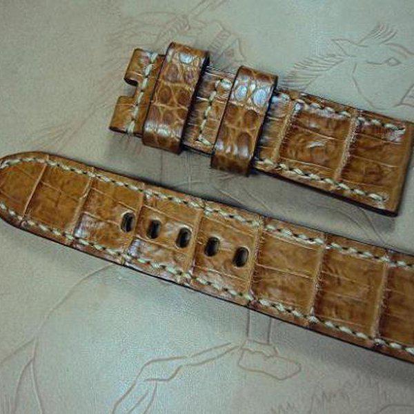 FS: Panerai custom straps A480~A494 include crocodile straps,olive green & dark gray straps. Cheergiant straps 19