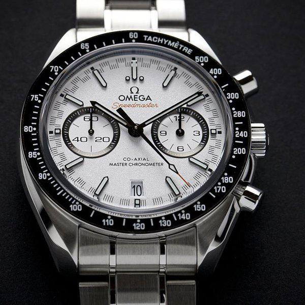 fsot - Omega Speedmaster - Racing Master Co-Axial 44.25mm - White Dial ( new / 2020 ) 3