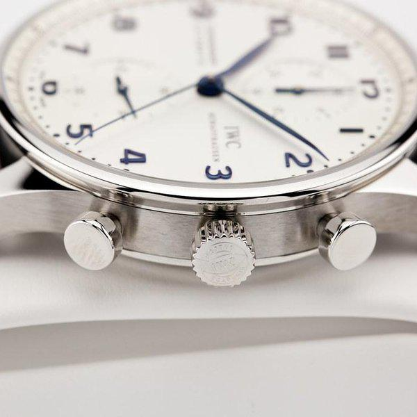 fsot - IWC Portuguese Chronograph - NEW In-House Movement - IW371605 ( new / 2020 ) 7