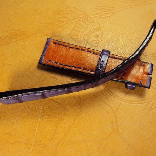 FS:Some custom straps Svw420~429 AP ROO Safari croco strap,CHOPARD,Bell & Ross BR-02,Agnes b. Cheergiant straps 16