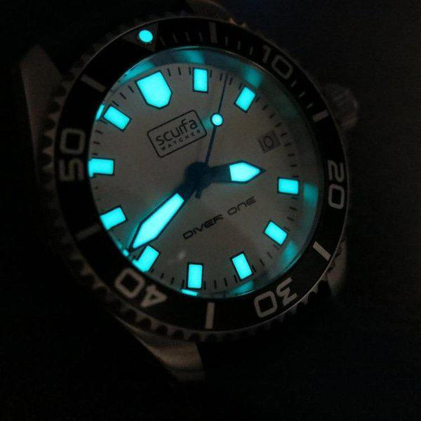 TRADED - Sold Out Scurfa D1 500m with Silver Dial Blue hands 4