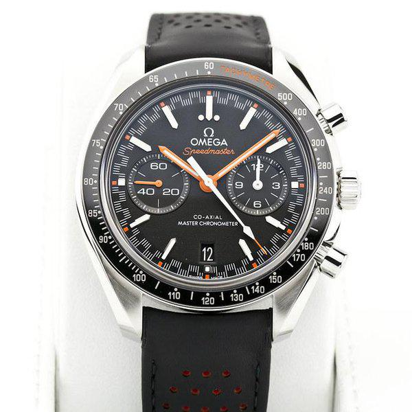 fsot - Omega Speedmaster - Racing Master Co-Axial 44.25mm - Orange ( new / 2020 ) 3